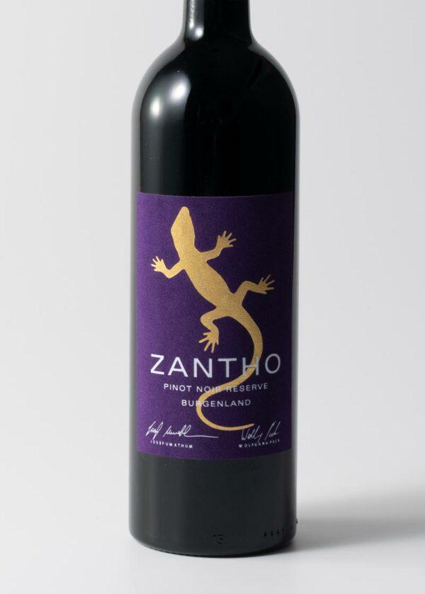 Zantho pinot noir reserve 2018
