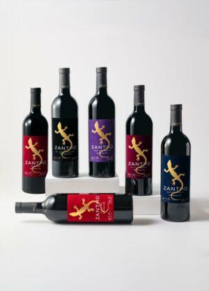 ZANTHO Reserve Red wine assortment