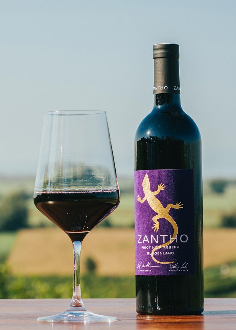 Zantho pinot noir reserve